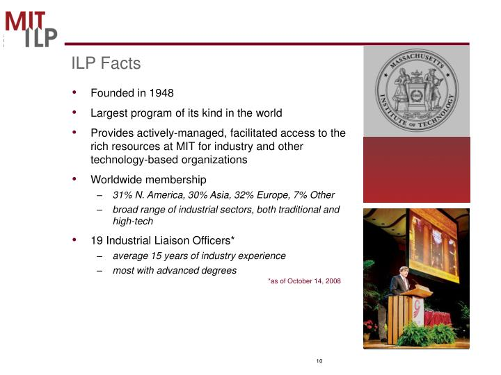 ILP Facts