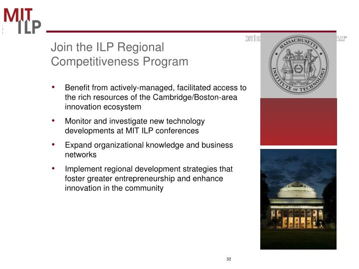 Join the ILP Regional