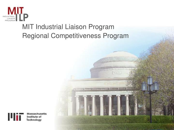 MIT Industrial Liaison Program