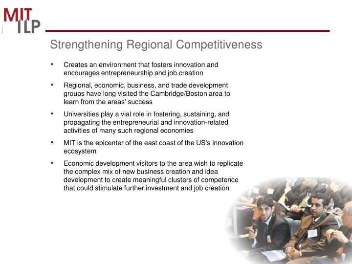 Strengthening Regional Competitiveness