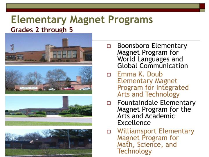 Elementary Magnet Programs