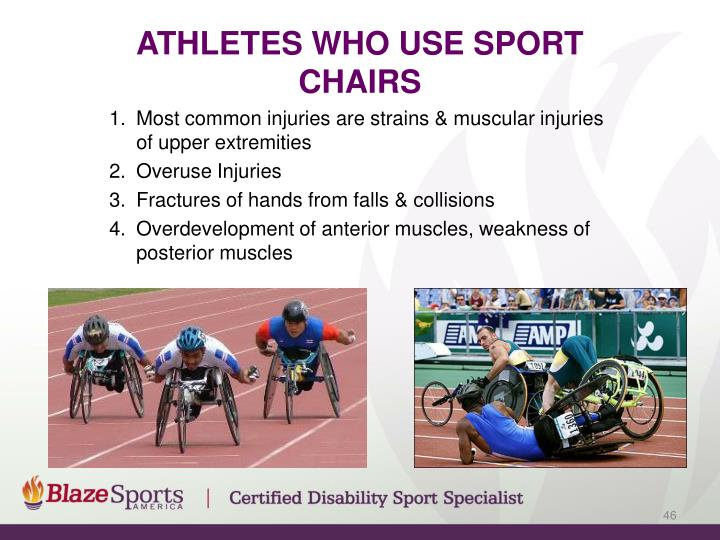 Athletes Who use Sport Chairs