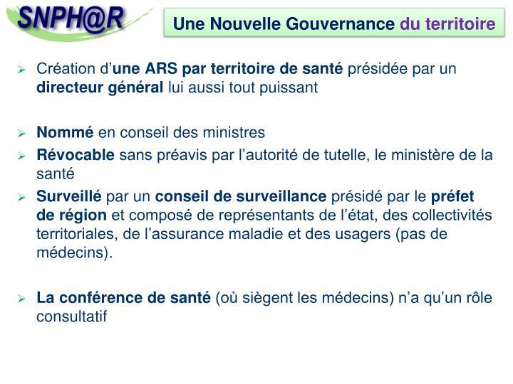 Une Nouvelle Gouvernance