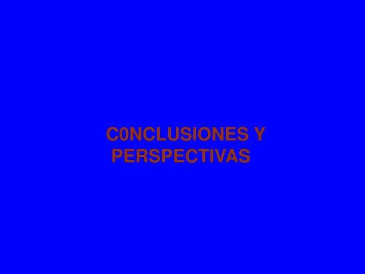 C0NCLUSIONES Y