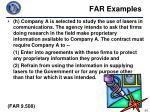 far examples6
