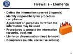 firewalls elements
