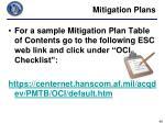 mitigation plans5