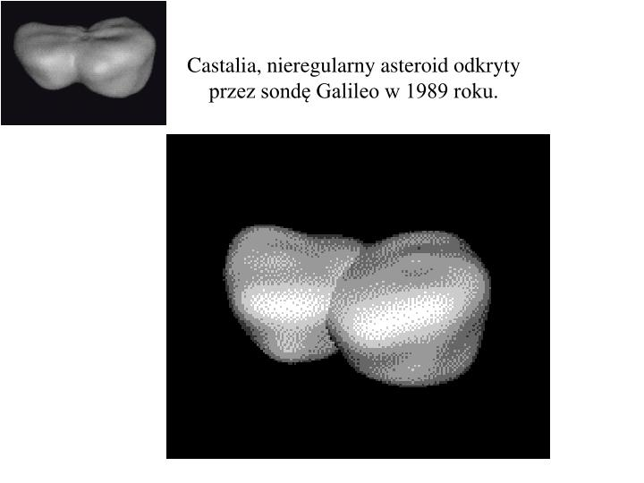 Castalia, nieregularny asteroid odkryty