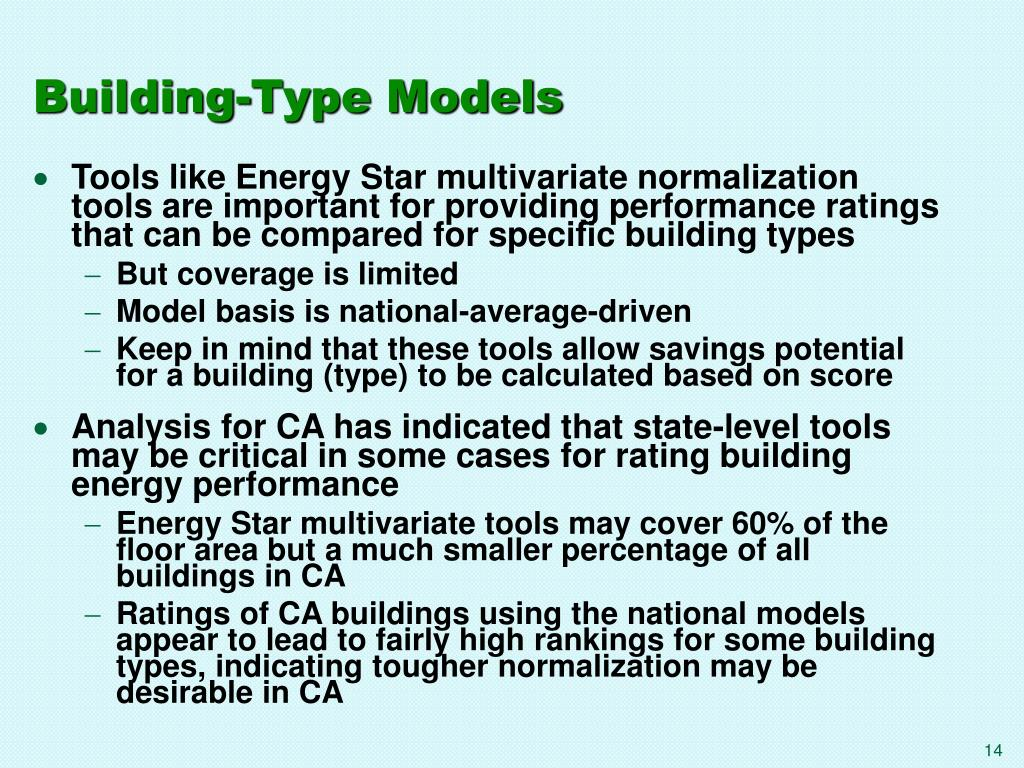 Building-Type Models