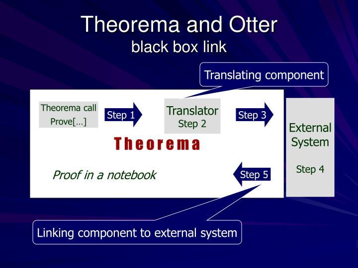Theorema and Otter