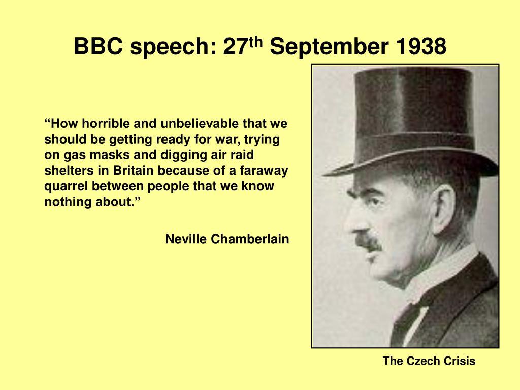BBC speech: 27