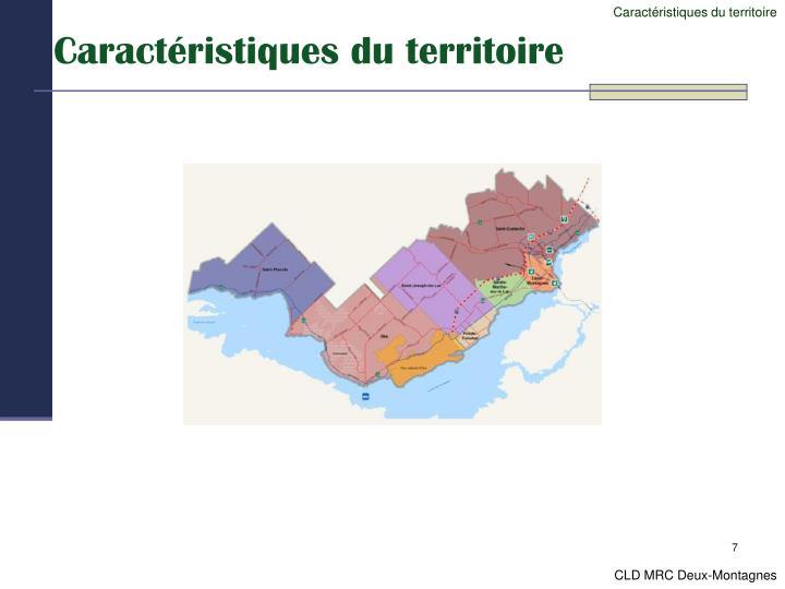 Caractéristiques du territoire