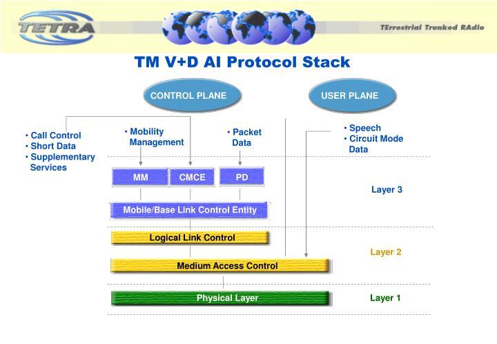 TM V+D AI Protocol Stack