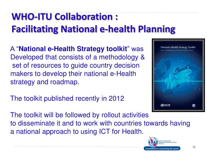 WHO-ITU Collaboration :