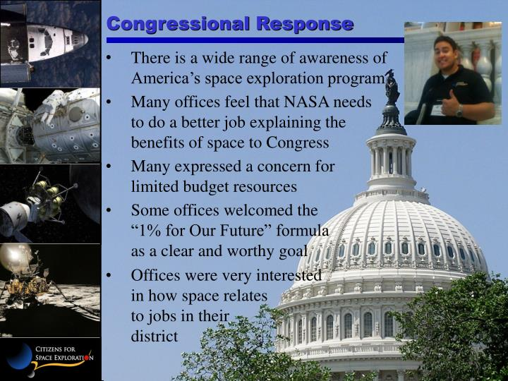 Congressional Response