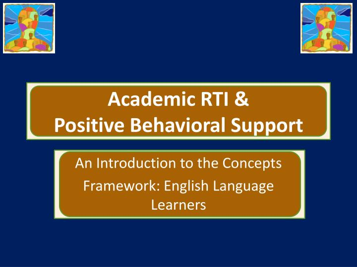 Academic rti positive behavioral support