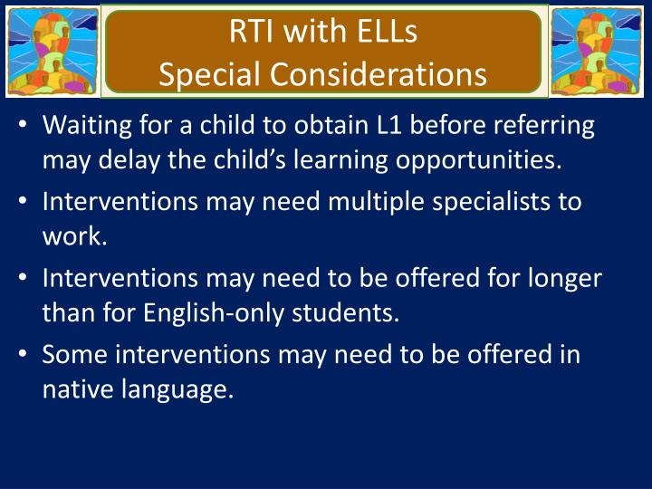 RTI with ELLs