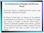 la constituci n y principios del proceso penal