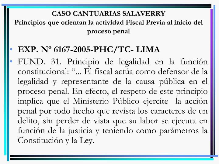 CASO CANTUARIAS SALAVERRY