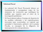 solicitud fiscal