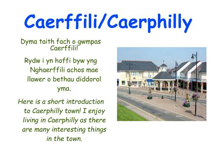 Caerffili/Caerphilly