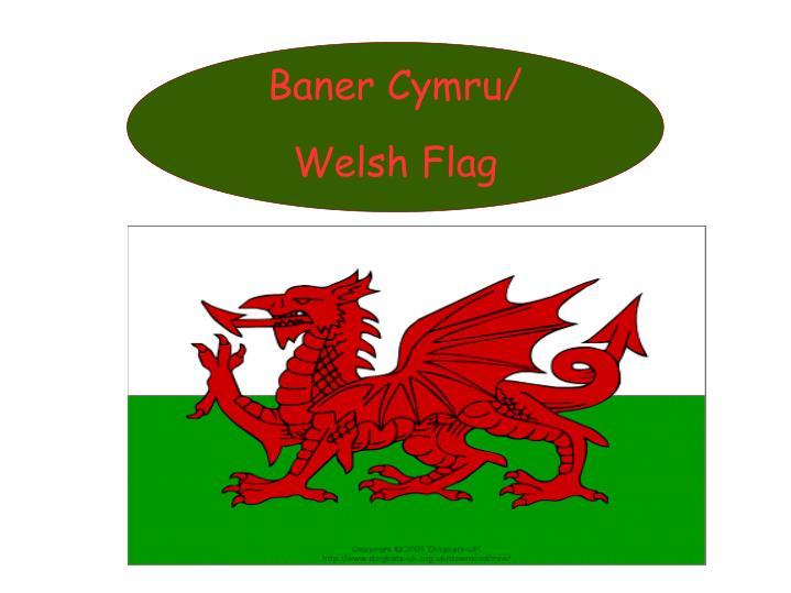 Baner Cymru/ Welsh Flag