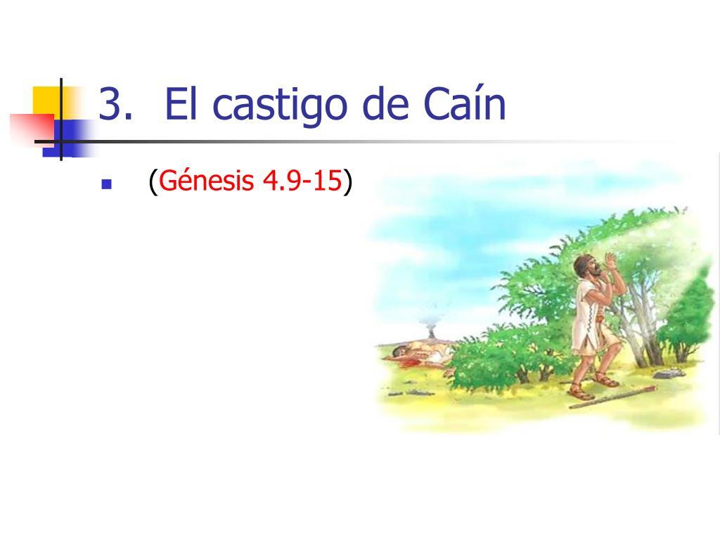 El castigo de Caín