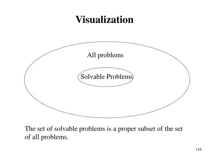 Solvable Problems