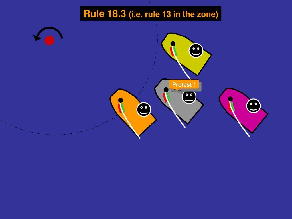 Rule 18.3
