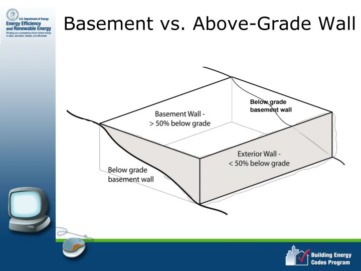 Basement vs. Above-Grade Wall