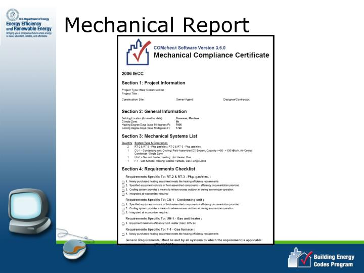 Mechanical Report
