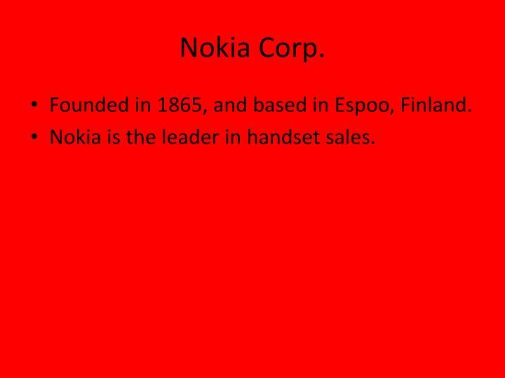 Nokia Corp.