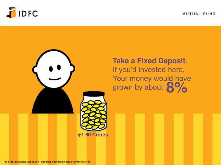 Take a Fixed Deposit.