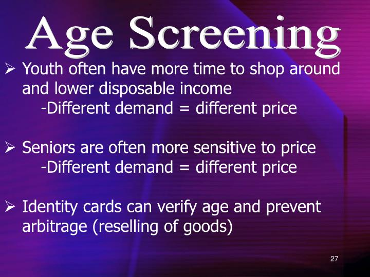 Age Screening