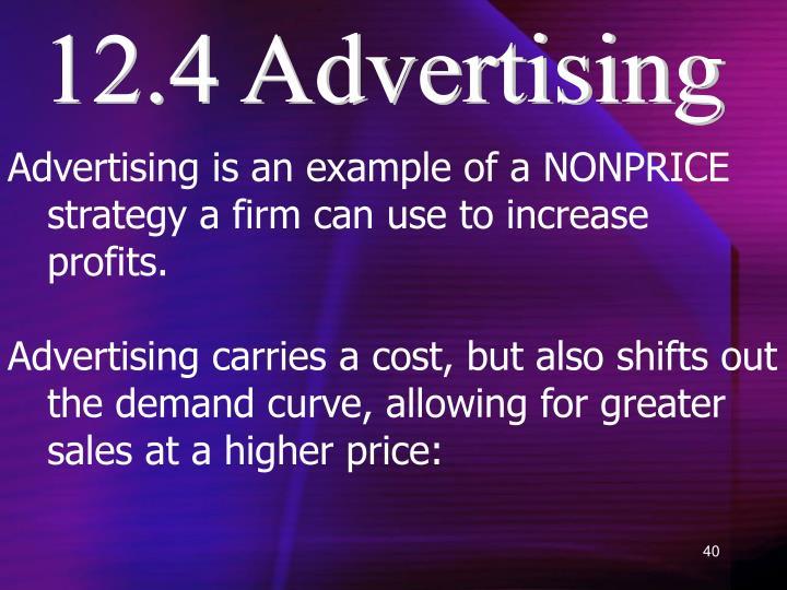 12.4 Advertising