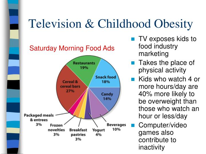 TV exposes kids to food industry marketing