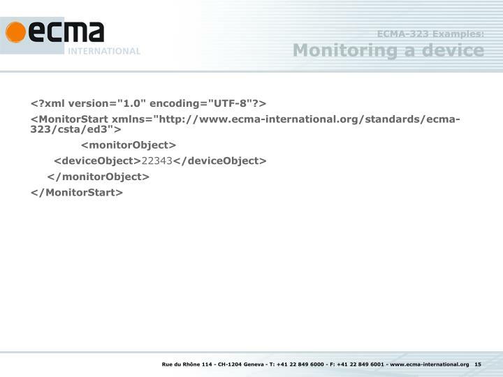 ECMA-323 Examples: