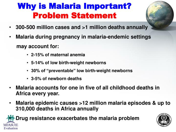 Why is Malaria Important?