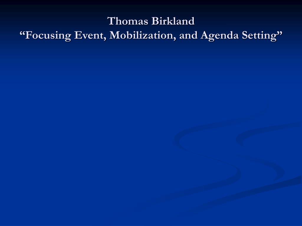 Thomas Birkland