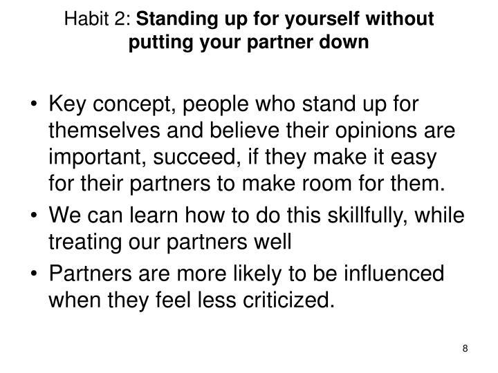 Habit 2: