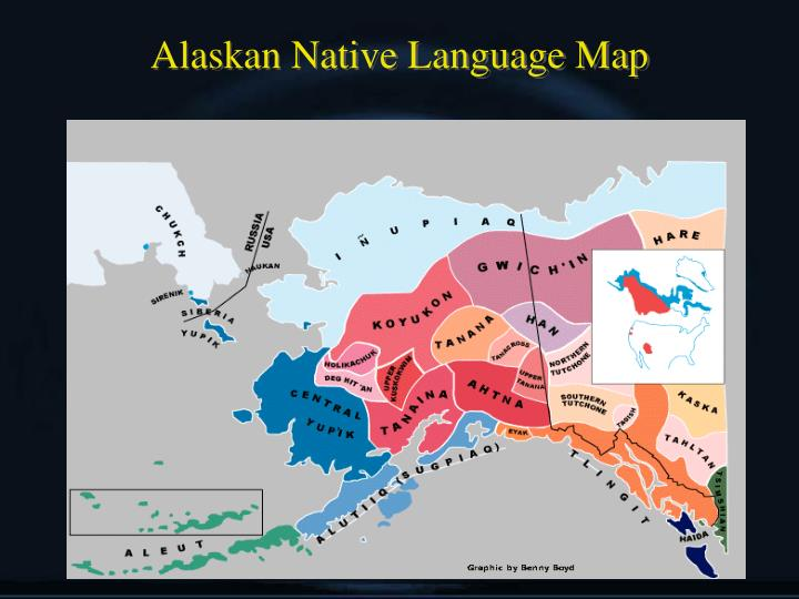 Alaskan Native Language Map