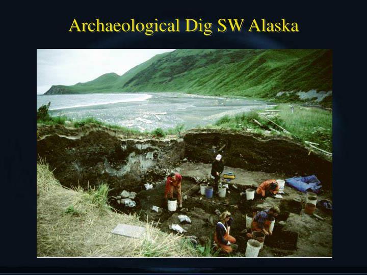 Archaeological Dig SW Alaska