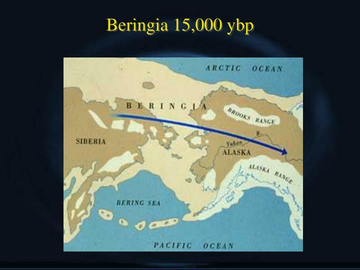 Beringia 15,000 ybp