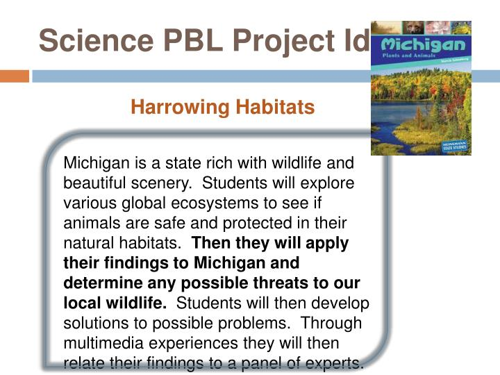 Science PBL Project Idea