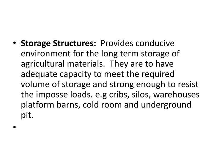 Storage Structures: