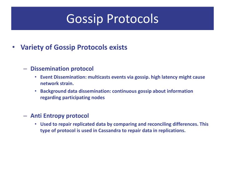Gossip Protocols