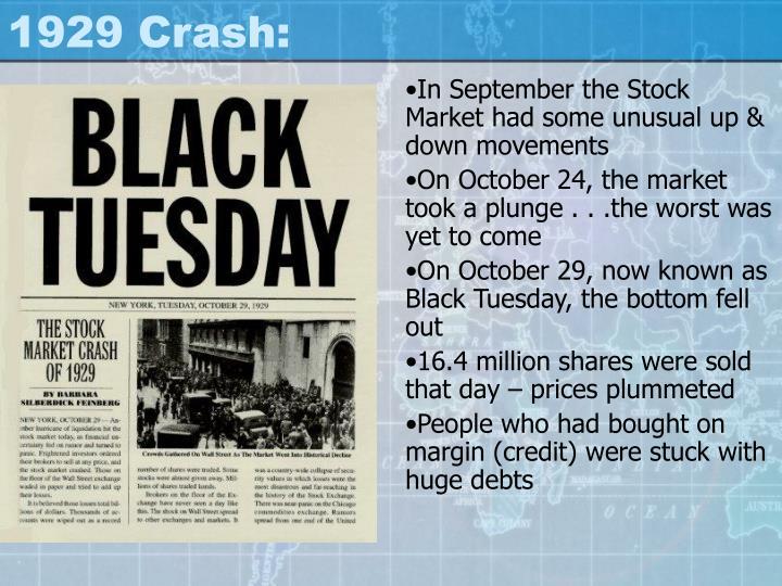 1929 Crash: