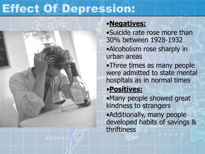 Effect Of Depression: