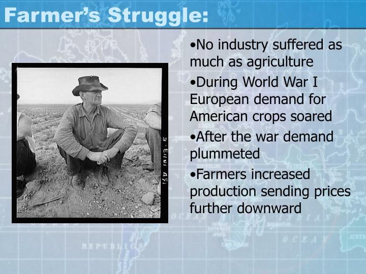 Farmer's Struggle: