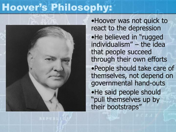 Hoover's Philosophy: